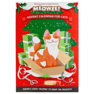 Julekalendar til katte fra Meowee