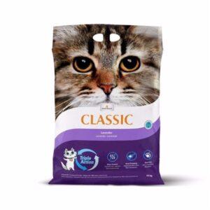 Extreme Classic kattegrus med lavendel, 14 kg