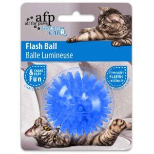 Bold med blinkende lys til katte fra AFP